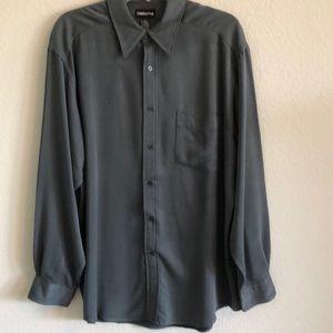 Claiborne men's LS button down dress shirt